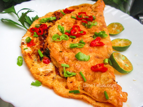 Chicken Omelette / Spicy Dish