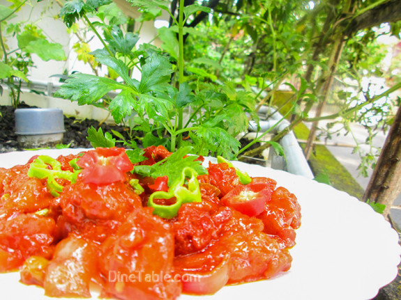 Chilly Chicken / Nonvegetarian Side Dish Recipe