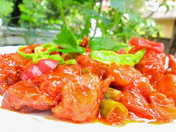 Chilly Chicken / Yummy Side Dish
