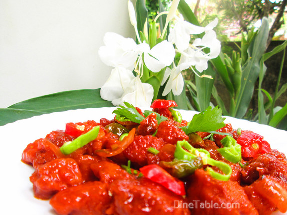 Chilly Chicken / Quick Side Dish