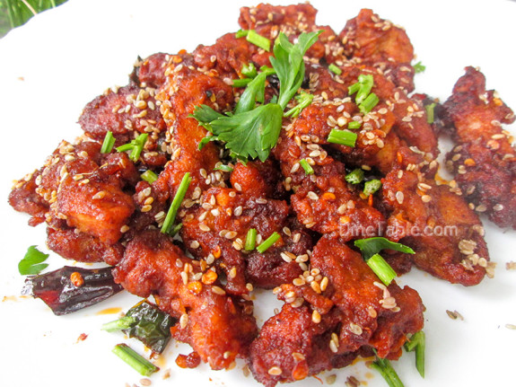 Crispy Honey Chilly Chicken / Non Vegetarian