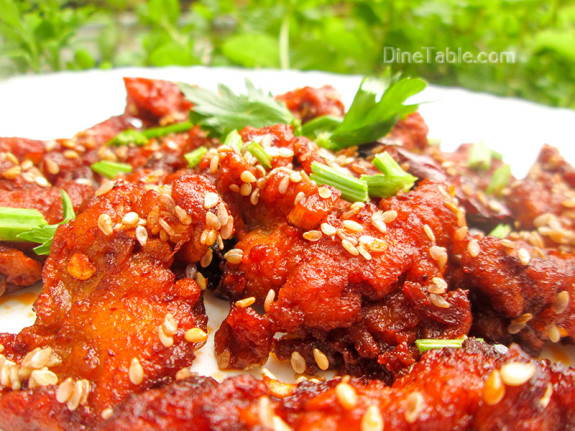 Crispy Honey Chilly Chicken / Delicious