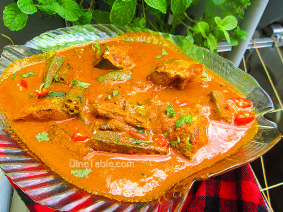 Goan Mackerel Fish Curry / Spicy Curry Recipe