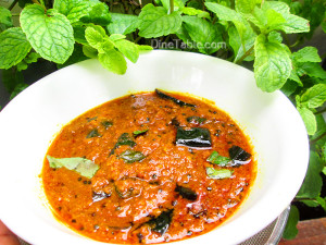Trivandrum Style Inji Curry
