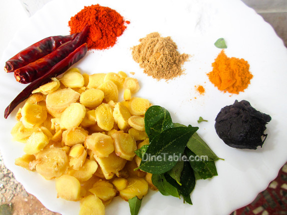 Inji Curry / Trivandrum Style Recipe / Tasty