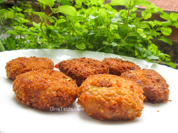 Koorka Cutlet / Chinese Potato Cutlet / Simple