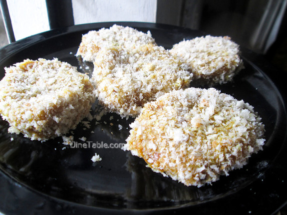 Koorka Cutlet / Chinese Potato Cutlet / Spicy