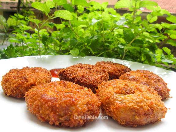 Koorka Cutlet / Kerala Snack