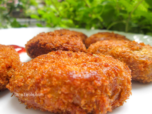 Koorka Cutlet / Chinese Potato Cutlet / Easy