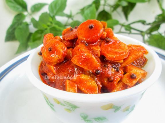 how to make tasty mango pickle kerala style