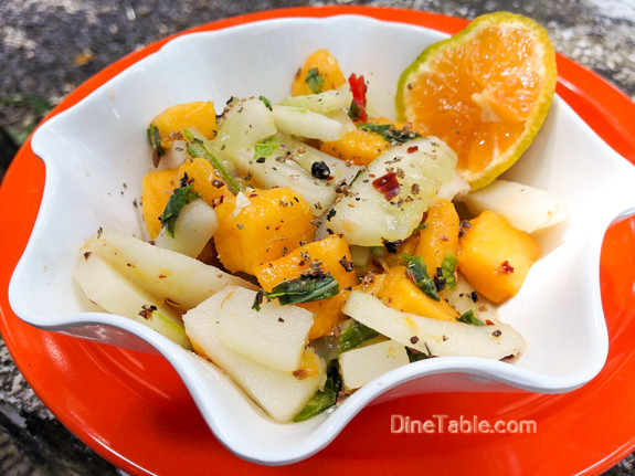 Mango Potato Cucumber Salad / Simple Salad