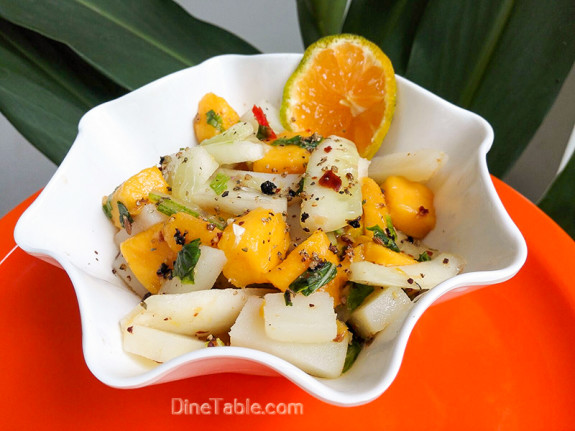 Mango Potato Cucumber Salad / Tasty Salad