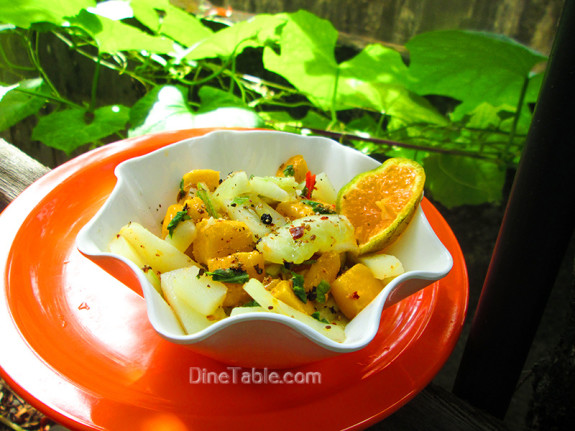 Mango Potato Cucumber Salad / Easy Salad