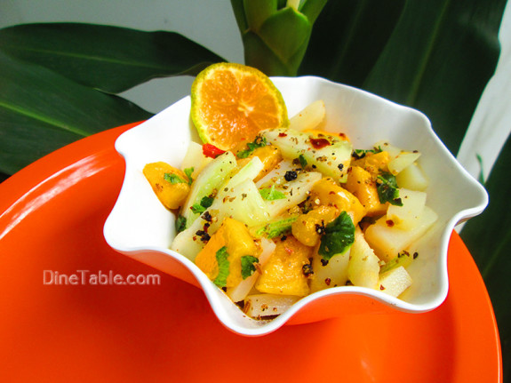Mango Potato Cucumber Salad / Spicy Salad
