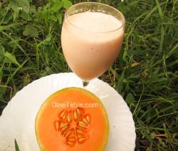 Musk Melon Milkshake / Quick Drink