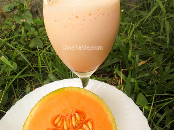 Musk Melon Milkshake / Tasty Drink
