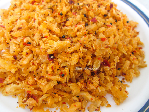 Radish Thoran / Yummy Side Dish