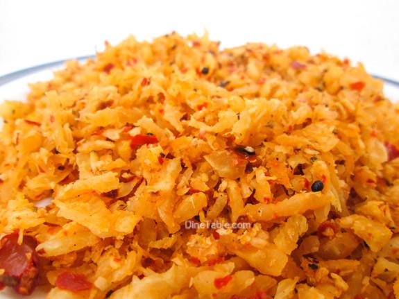 Radish Thoran / Easy Side Dish