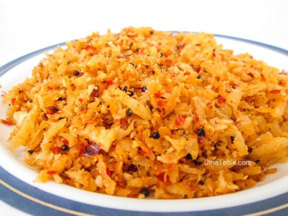 Radish Thoran / Quick Side Dish