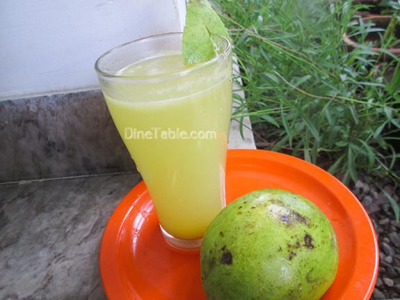 Raw Mango Juice / Easy