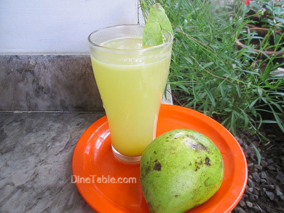 Raw Mango Juice / Quick