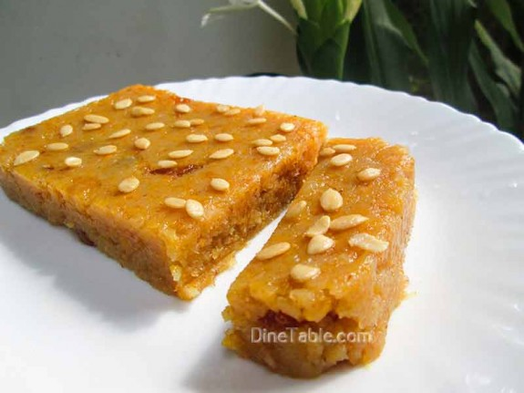 7 Cup Sweet Burfi / Christmas Special