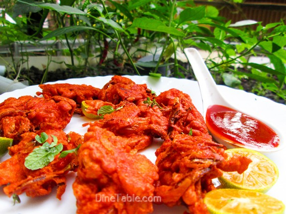 Crispy Chicken Pakora / Crunchy Snack