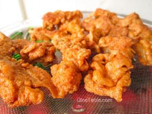 Crispy Fried Chicken Stripes