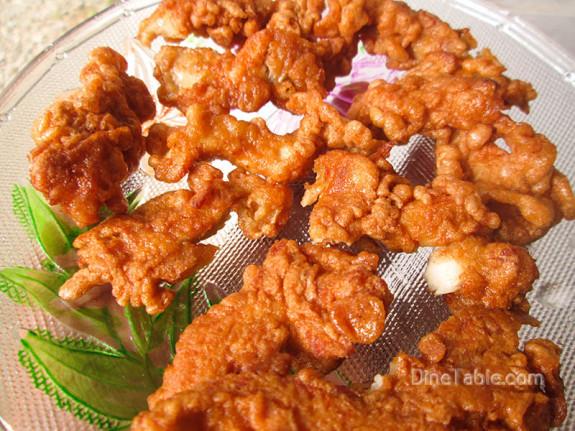 Crispy Fried Chicken Stripes / Crunchy Snack