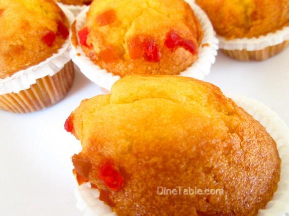 Strawberry Muffins Recipe / Evening Snack