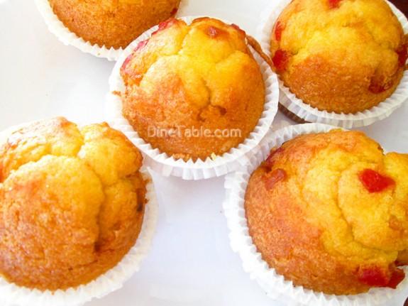 Strawberry Muffins Recipe / Easy Snack