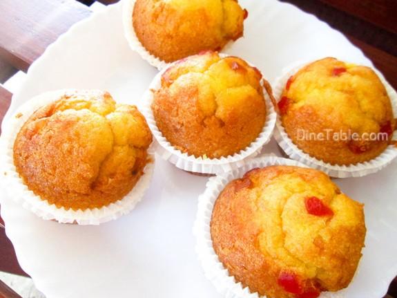 Strawberry Muffins Recipe / Tasty Snack