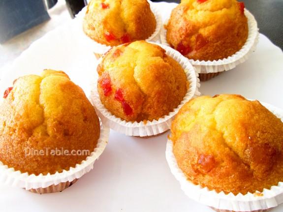 Strawberry Muffins Recipe / Homemade Snack