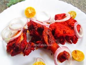 Tandoori Chicken / Simple Side Dish