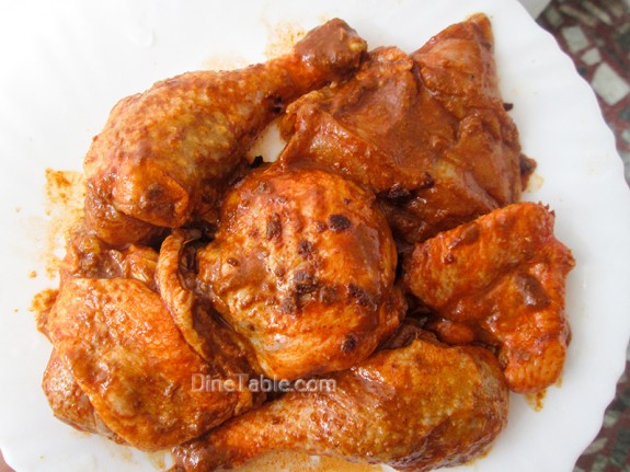 Tandoori Chicken / Chicken Fry Recipe