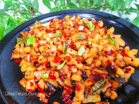 Urulakizhangu Mezhukkupuratti / Yummy Recipe