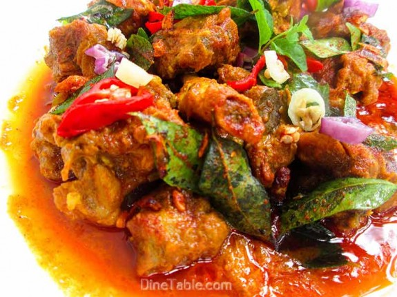 Mutton Rogan Josh / Easy Curry