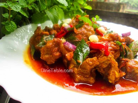 Mutton Rogan Josh / Spicy Curry
