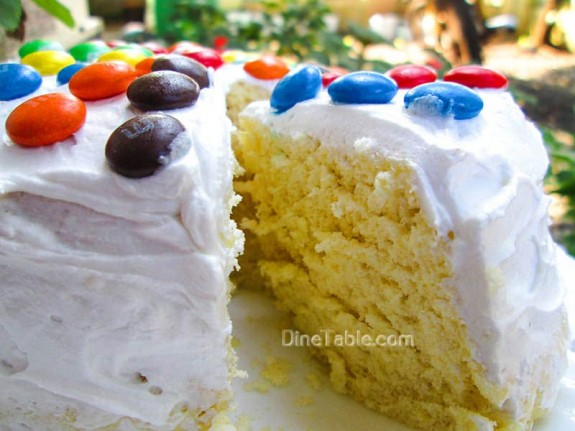 Vanilla Cake / Homemade Cake