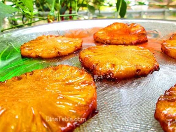 Caramelized Pineapple / Yummy Sweet