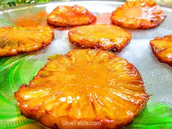 Caramelized Pineapple / Easy Sweet