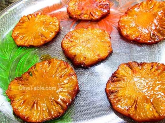 Caramelized Pineapple / Homemade Sweet