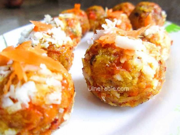 Carrot Coconut Balls / Delicious