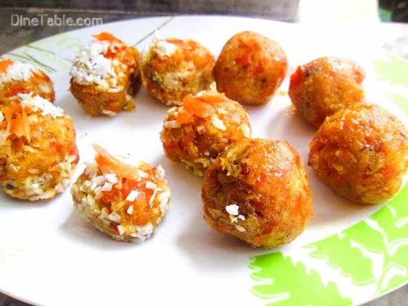 Carrot Coconut Balls / Snack
