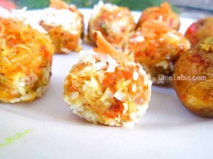 Carrot Coconut Balls
