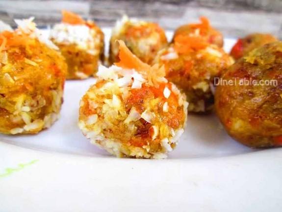 Carrot Coconut Balls / Sweet