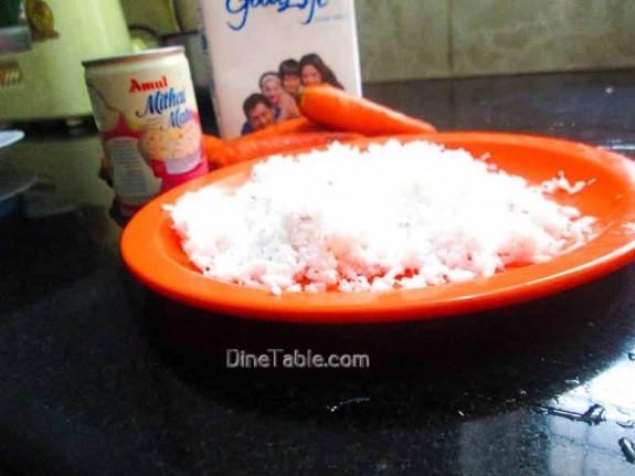 Carrot Coconut Balls / Vegetarian