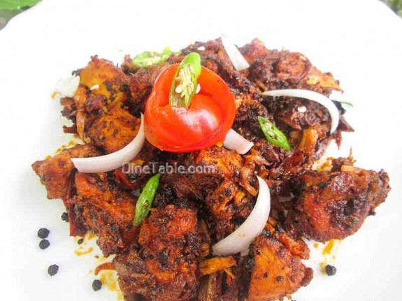 Chettinad Pepper Chicken / Delicious