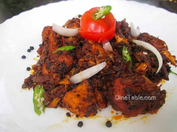 Chettinad Pepper Chicken / Spicy Recipe