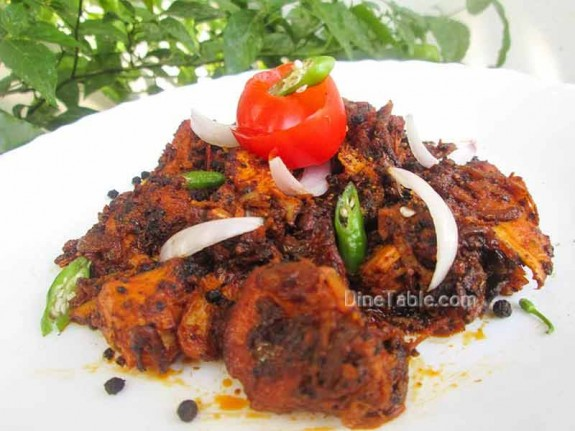 Chettinad Pepper Chicken / Mouth Watering Recipe